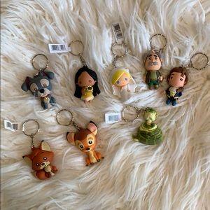 Disney keychain bundle